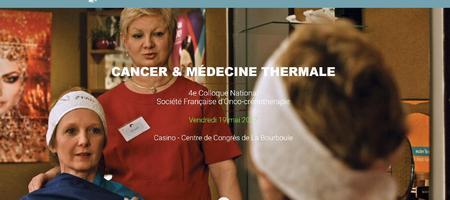03/05/17 – Colloque d'Onco-crénothérapie à La Bourboule