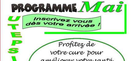 08/05/17 – Barbotan-les-Thermes: le programme de Mai de l'UTEPSSIA