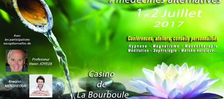16/06/17 – La Bourboule accueille le Salon Pleine Santé et Médecines Alternatives Complémentaires