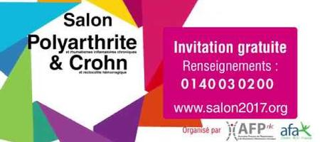 18/08/17 – Salon de la polyarthrite et des RIC