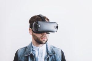 réalité virtuelle, casque, soulager, douleur
