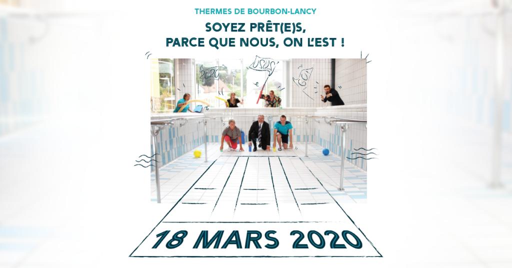 ouverture des thermes de Bourbon Lancy le 18 mars 2020