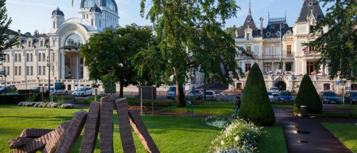 Palais Lumière et hôtel de ville @Ville d'Evian